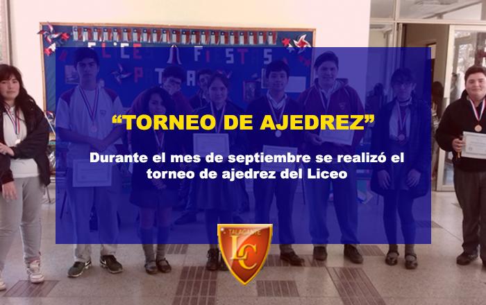 Torneo de Ajedrez 2018